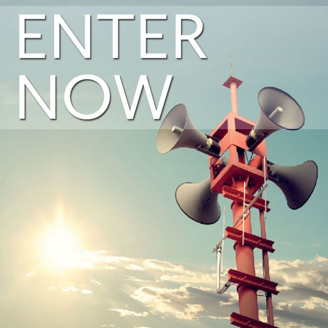 Enter the 2017 competition now