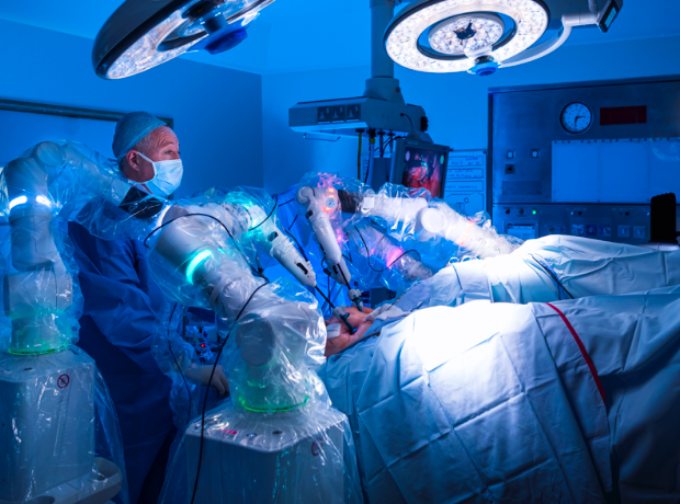 Thumbnail image for 'Transformative' surgical robot trialled on NHS