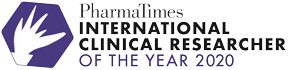 International Clinical Researcher of the Year Logo