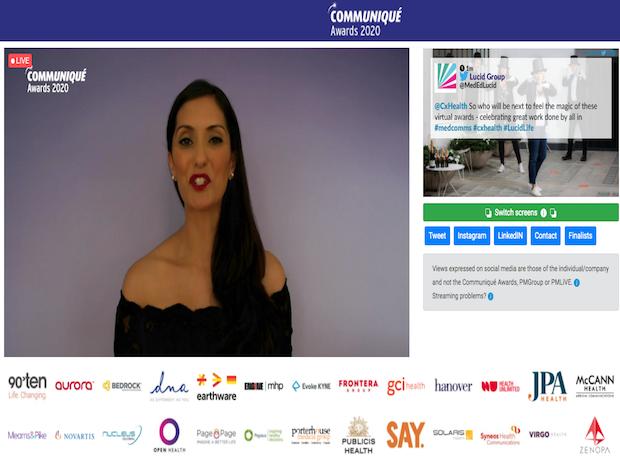 Thumbnail image for Communiqué  2020 – winners announced!