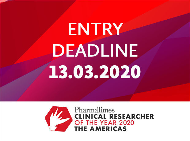 Thumbnail image for Final month of entries for the 2020 Clinical Researcher of the Year – The Americas