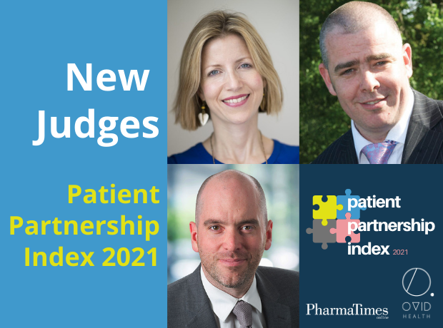 Thumbnail image for Pharma, comms and patient group leaders join judging panel for Patient Partnership Index 2021