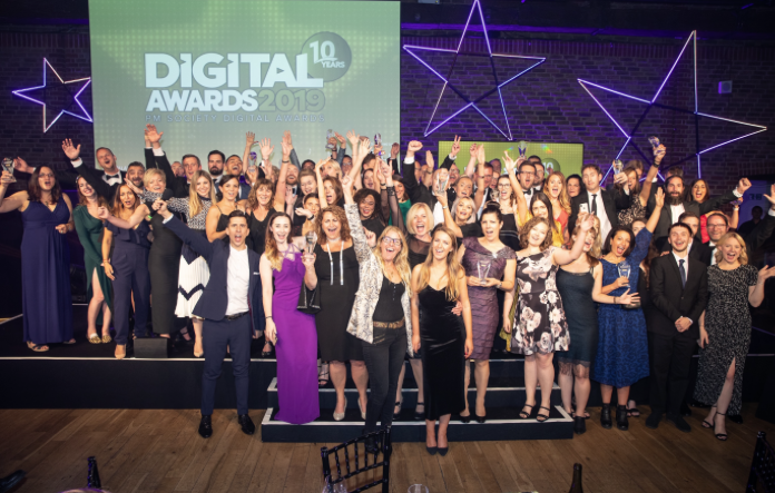 Thumbnail image for Four Health, ARK top the PM Society Digital Awards 2019