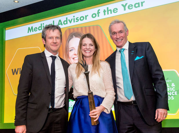 Thumbnail image for 2018 winner offers insight into the Medical & Scientific Excellence Awards